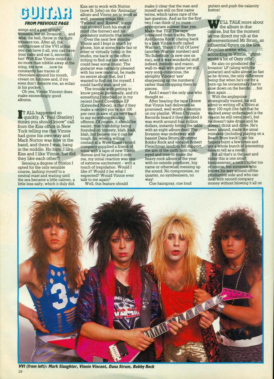 Discussion sur les traces de Vinnie !! - Page 3 Kerrang145_03