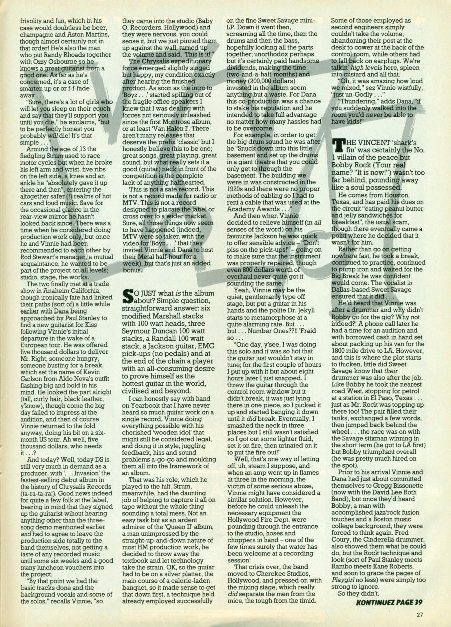 Discussion sur les traces de Vinnie !! - Page 3 Kerrang145_04